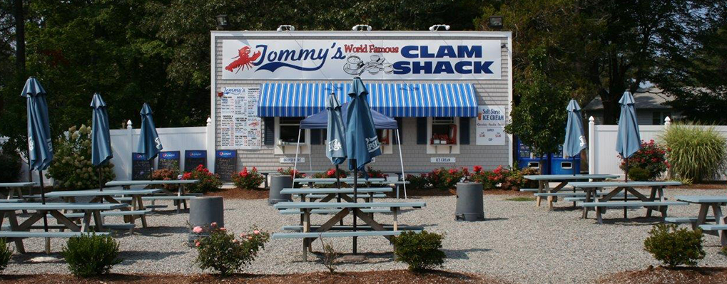Welcome to Tommy's Clam Shack